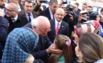 MİLLİ EĞİTİM BAKANI NABİ AVCI BİLECİK'TE ÇİÇEKLERLE KARŞILANDI