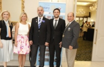 Çekirge Rotary Kulübünde Hakan Oka Dönemi