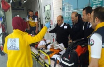 Bursa'da can pazarı! Beton zemine çakıldı