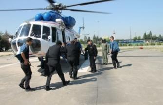 Bursa'da jandarmadan helikopterli uyuşturucu operasyonu!