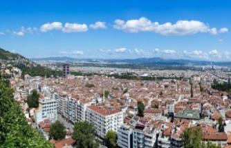 Bursa'da konut satışlarında düşüş