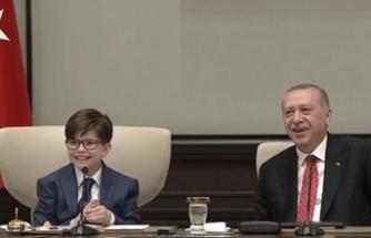 Küçük Cumhurbaşkanı Fatih'in verdiği yanıt herkesi güldürdü!
