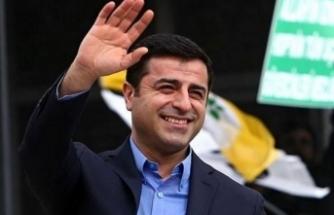 """Demirtaş'tan Cumhurbaşkanı adayına yanıt: """"Siz kazanırsanız partiyi kapatırız"""""""
