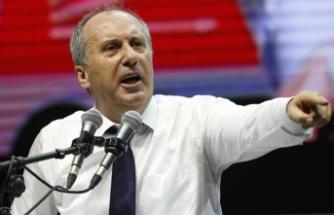 """Muharrem İnce'den Erdoğan'a sert sözler: """"Perişan edeceğim onu..."""""""