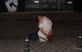 Sokak ortasında kanlı kavga!