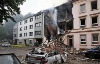 Almanya'da patlama! Çok sayıda yaralı var!