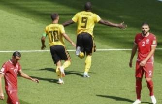Belçika gol oldu yağdı
