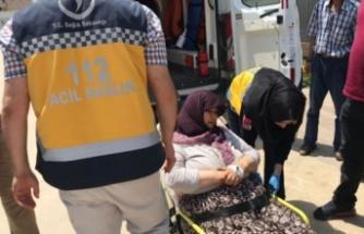 Bursa'da baltalı saldırı! 2 çocuk annesi kadın...