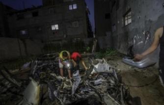 İsrail savaş uçakları Gazze'yi bombaladı, Filistin karşılık verdi