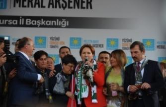 Meral Akşener'den Bursa'da önemli açıklamalar!