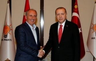 Muharrem İnce'den Erdoğan'a tebrik telefonu