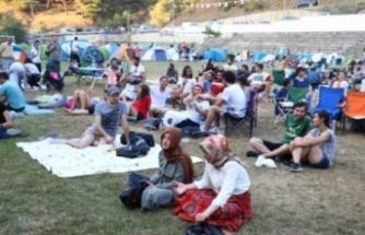 Bursa'da doğada festival keyfi