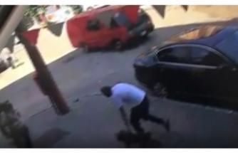 Bursa'da köpek hırsızı kameralara yakalandı!