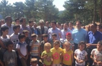 Bursa'da nöbeti bırakmıyorlar! Köylüler direnişte