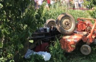 Bursa'daki traktör kazasında kahreden tesadüf! 20 yıl sonra aynı yerde...