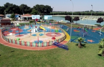 Çocukların yeni eğlencesi 'Su Oyunları Parkı' açılıyor