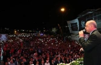 """Cumhurbaşkanı Erdoğan: """"Pensilvanya'daki melunun büyüttüğü ahtapotun kollarını kestik"""""""