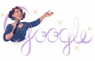 Google Bursalı merhum sanatçı Müzeyyen Senar'ı unutmadı