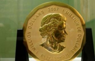 Müzeden 100 kiloluk altın parayı çaldılar!