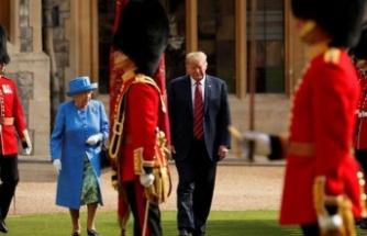 Trump'tan Kraliçe'yi şaşkına çeviren hareket!