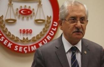 """YSK Başkanı'ndan açıklama: """"İtiraz süreci devam ediyor"""""""