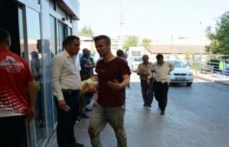 Bursa'da acemi kasaplar hastanelere koştu