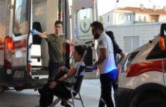 Bursa'da hamile sürücülerin karıştığı kaza korkuttu!