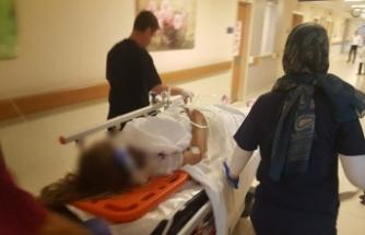 Bursa'da araçtan fırlayan kadın sürücü hayata 4 gün tutunabildi