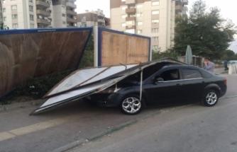 Bursa'da otomobil sürücüsü ne olduğunu anlayamadı...