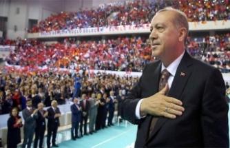 """Erdoğan kongreden seslendi! """"Bizi bölmek isteyenlere en güzel cevabı veriyoruz..."""""""