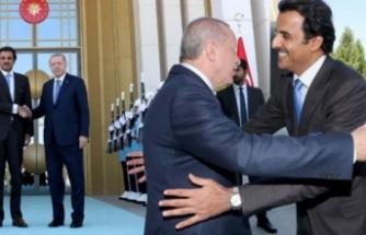 Katar Emiri geldi! Külliye'de kritik görüşme başladı!