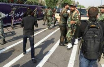 Askeri geçiş töreninde terör saldırısı!