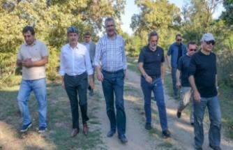 Başkan Özkan, Bursa protokolüne projeleri anlattı