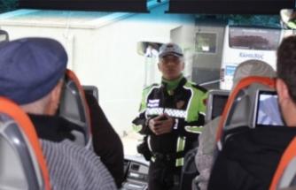 Bursa'da otobüsler durduruldu! Yolcular tek tek uyarıldı!