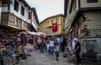 Bursa Cumalıkızık'ta hafta sonu yoğunluğu