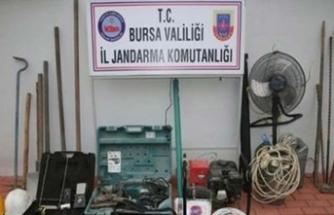 Bursa'da izinsiz kazı yapan 11 kişiye gözaltı
