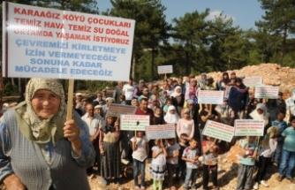 Bursa'da santral istemeyen mahalleli amacına ulaştı