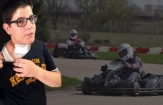 Go-kart'ta dehşet! 14 yaşındaki çocuk ölümden döndü