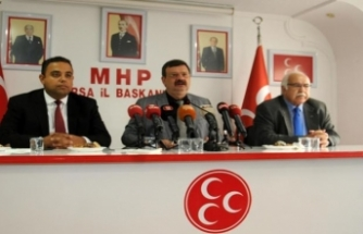 MHP Bursa İl Başkanı: Suriyeliler acilen kendi yurtlarına gönderilmeli!