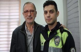Altaylı hakaret ettiği polis memurundan özür diledi