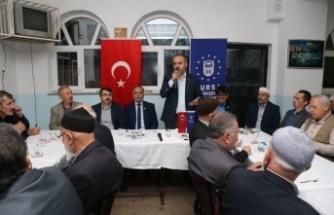 """Başkan Aktaş: """"Ovayı bitirmeyelim derken Bursa'yı bitireceğiz!"""""""