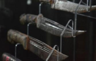 Bursa'nın dalında tek bıçak müzesine binlerce kişi akın etti!