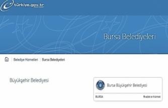 Bursa Büyükşehir'den, e-devlete 4 yeni hizmet daha