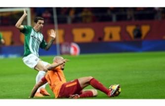 Bursaspor'un Galatasaray'a karşı yüzü gülmüyor