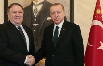 Cumhurbaşkanı Erdoğan, Pompeo ile görüştü!