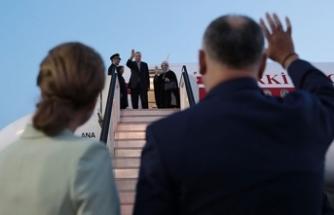 Cumhurbaşkanı Erdoğan'ı mevkidaşı böyle uğurladı
