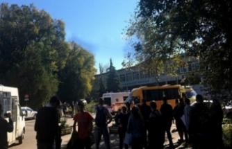 Okulda patlama! Çok sayıda ölü var...