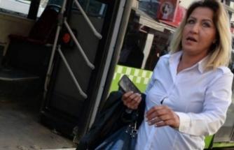 Cipteki kadınlar kadın otobüs şoförüne dehşeti yaşattı!