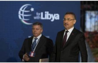 Fuat Oktay duyurdu: Türkiye Libya Konferansı'ndan çekildi