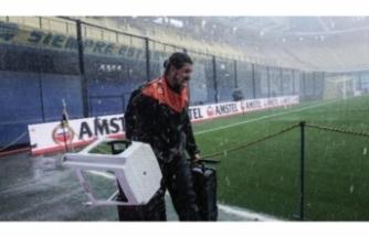 Superclasico'ya yağmur engeli!